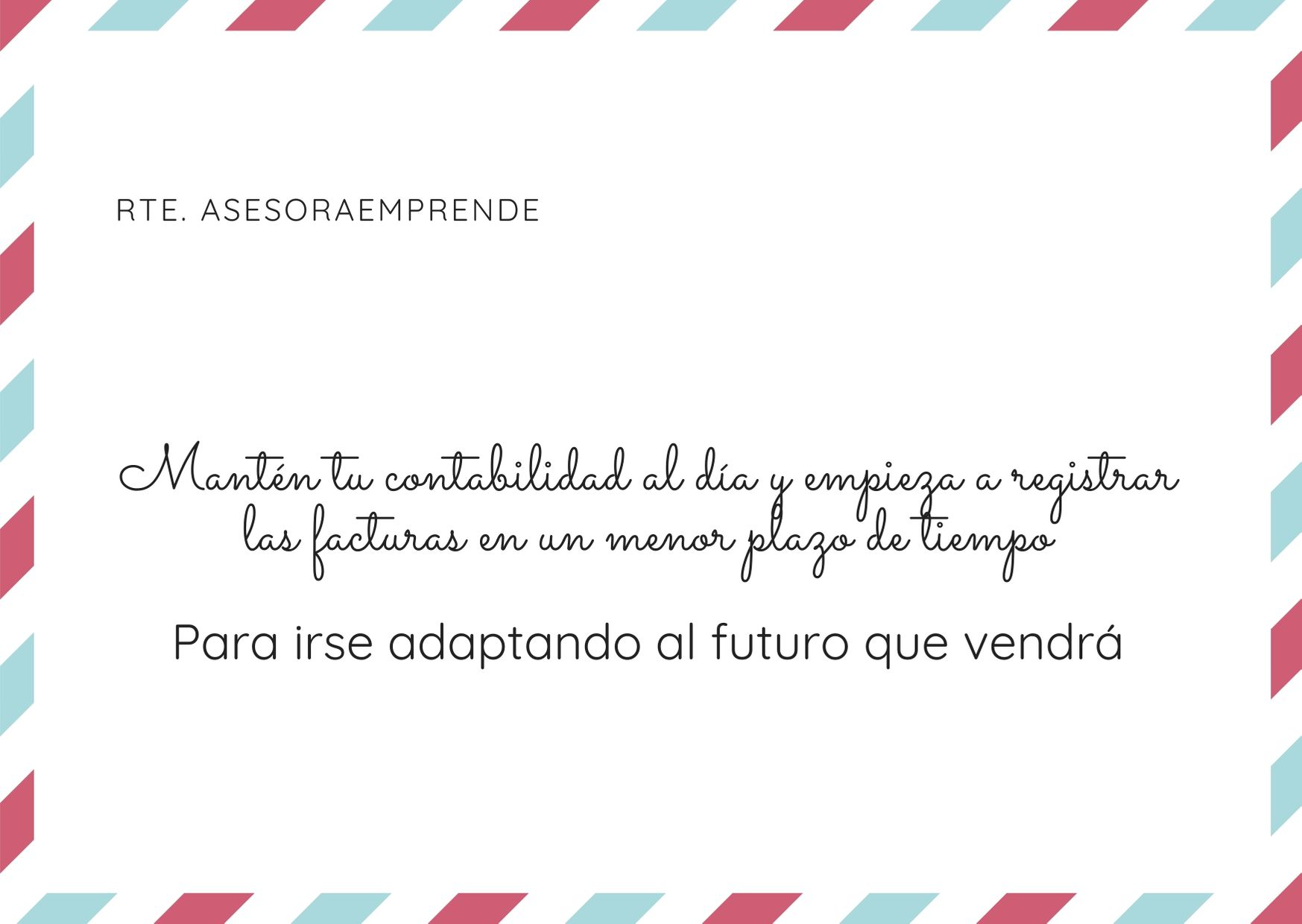 Para irse adaptando al futuro que vendrá (1)